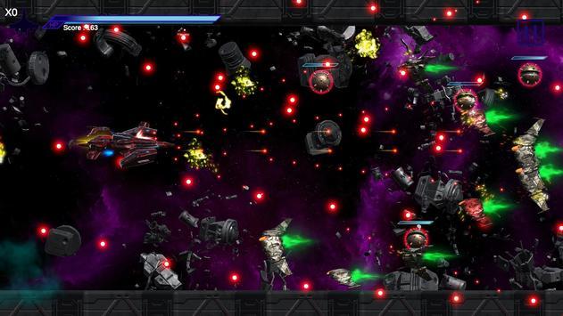 Space Shooter : AsaP Bullet Hell Red screenshot 3
