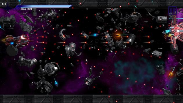 Space Shooter : AsaP Bullet Hell Red screenshot 4