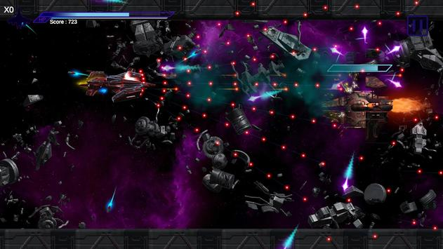 Space Shooter : AsaP Bullet Hell Red screenshot 6