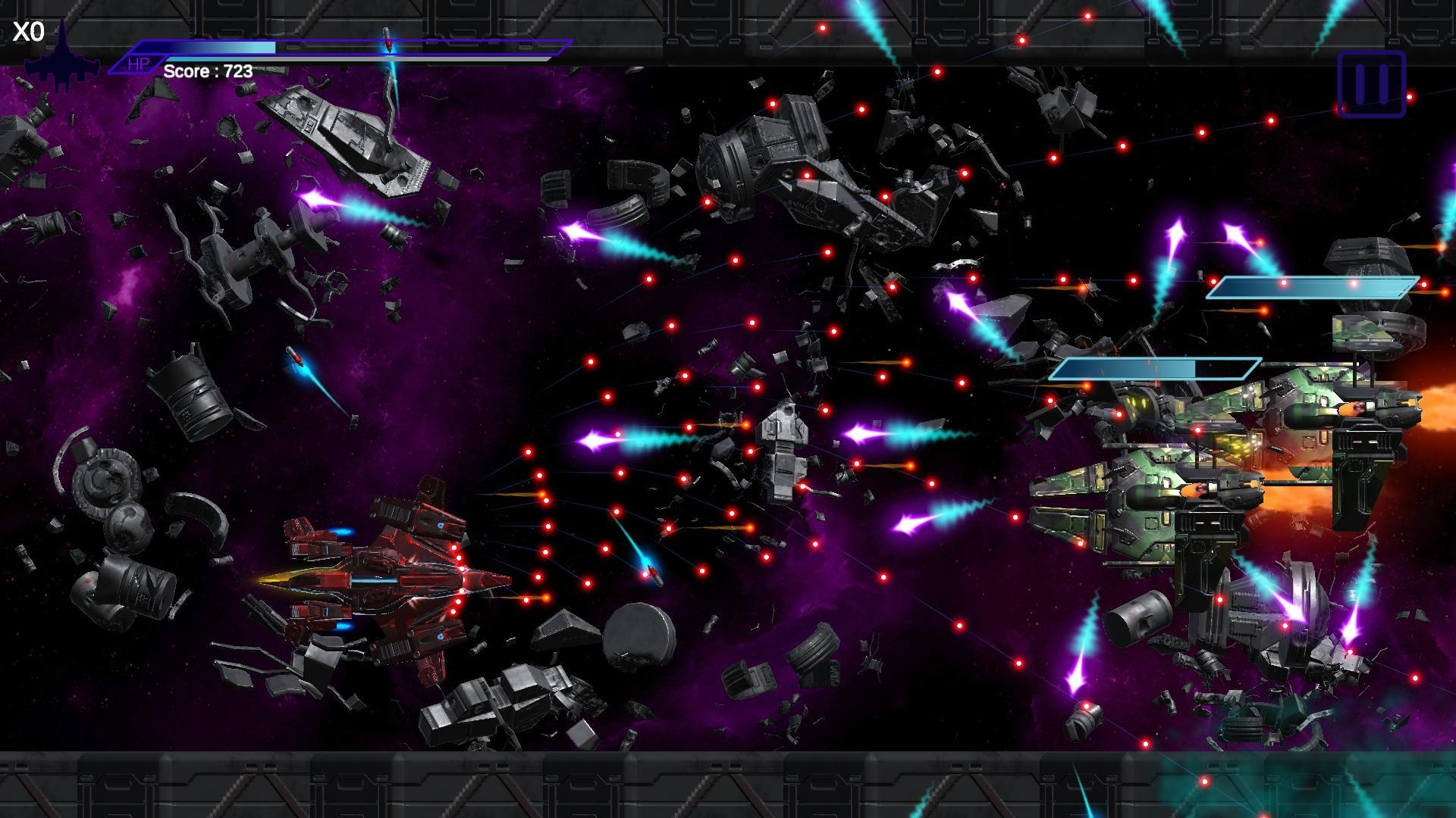 Space Shooter Asap Bullet Hell Red For Android Apk Download
