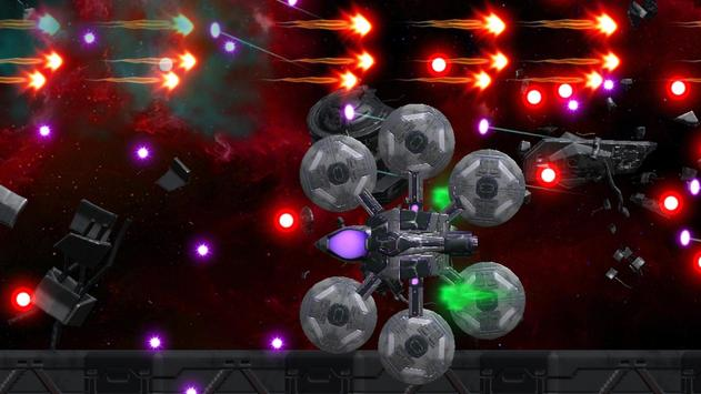 Space Shooter : AsaP Bullet Hell white poster