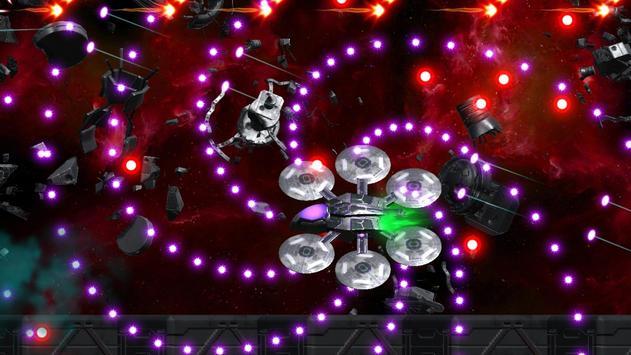 Space Shooter : AsaP Bullet Hell white screenshot 1