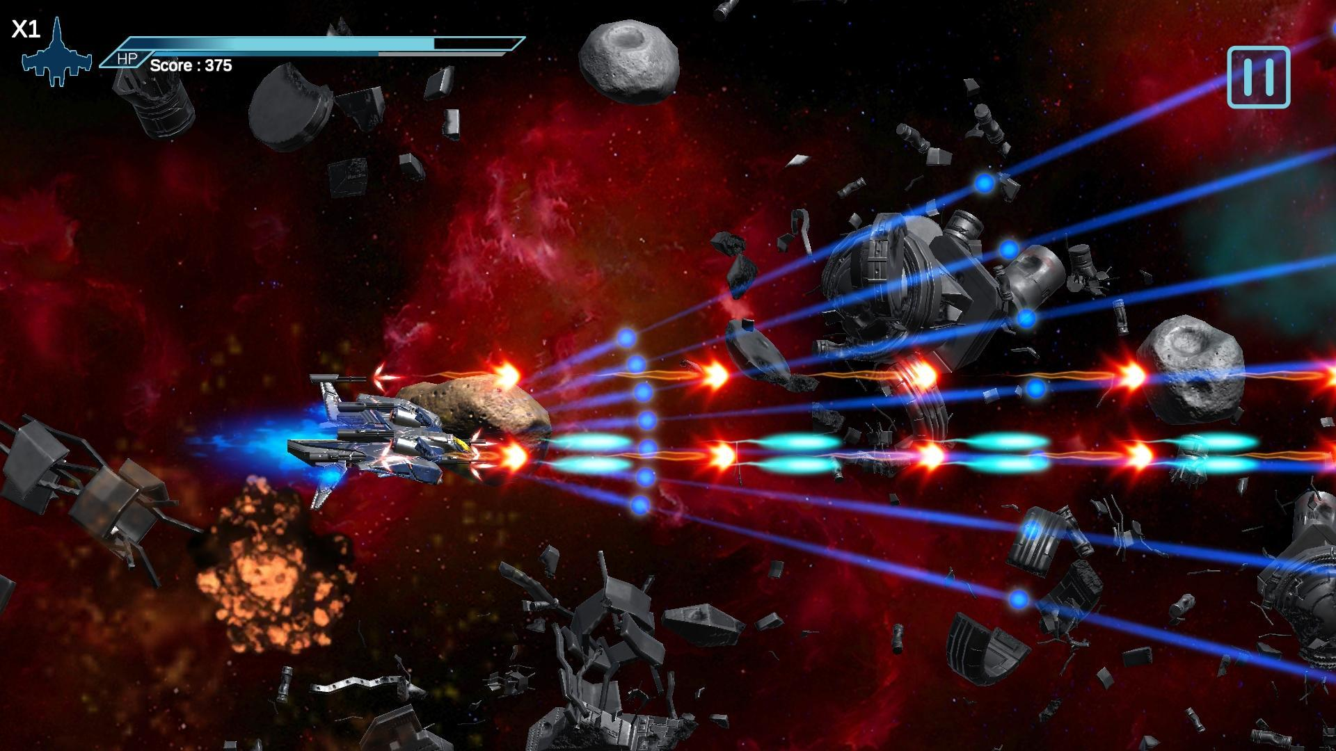Space Shooter 3d Bullet Hell Meja Infinity Fur Android Apk