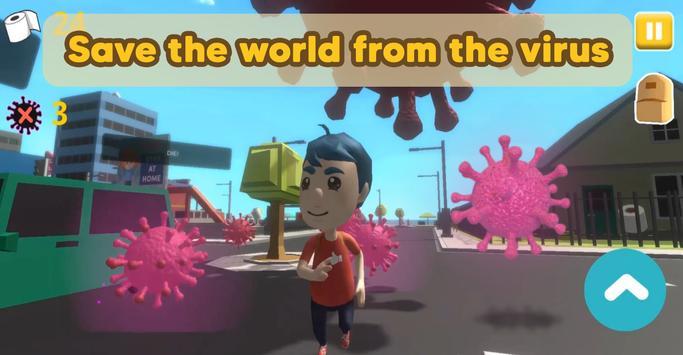 Lockdown Hero - Open world adventure poster