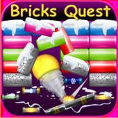 Bricks Breaker Demolition Quest-Space Demolition icon