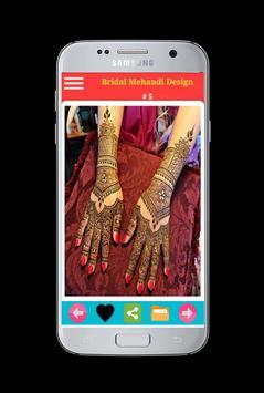 Bridal mehandi design 2018 - 2019 screenshot 10