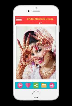 Bridal mehandi design 2018 - 2019 screenshot 8