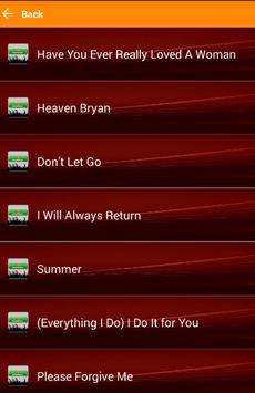 The Best Of Bryan Adams Songs for Android - APK Download