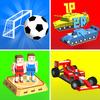 Icona Cubic 2 3 4 Giochi del Giocatore