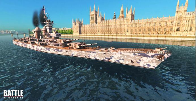 Battle of Warships تصوير الشاشة 6
