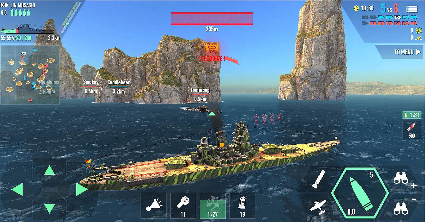 battle of warships naval blitz mod apk download