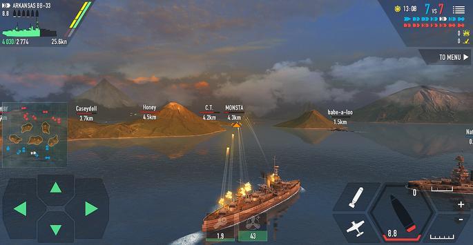 《战舰激斗》 截图 14