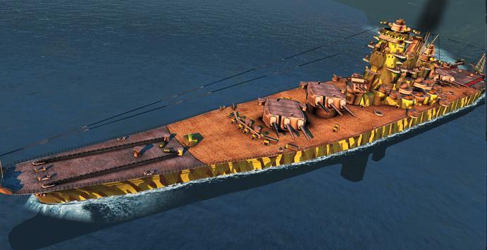 Battle of Warships captura de pantalla 4