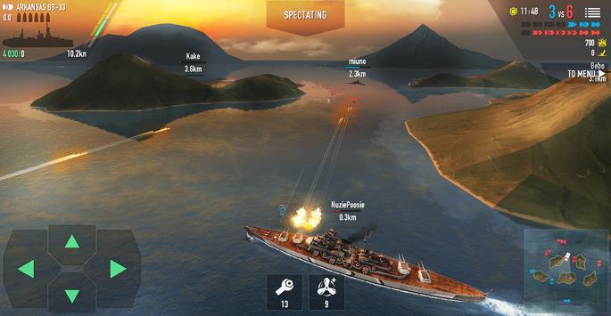 Battle of Warships captura de pantalla 11