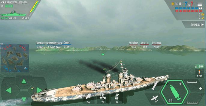 Battle of Warships captura de pantalla 3