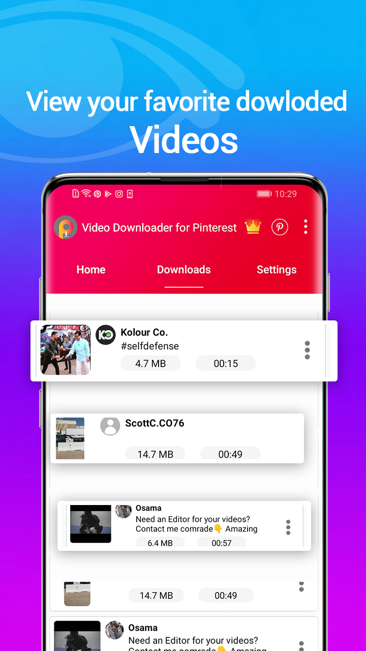 Video Downloader For Pintrest APK 20.20.20 Download for Android ...