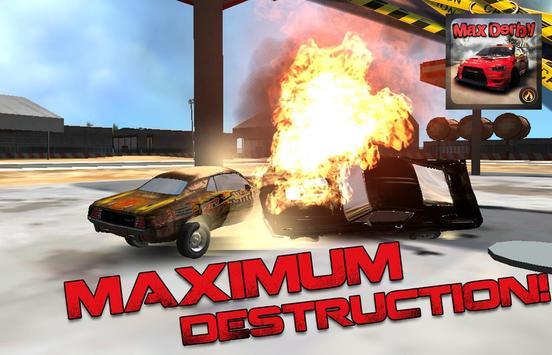 Max Derby Racing screenshot 1