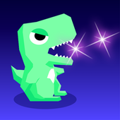 Tap Tap Dino : Grow my dino ( Idle & Clicker RPG ) icon