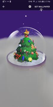 Christmas Snow Globe Live Wallpaper screenshot 5