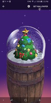 Christmas Snow Globe Live Wallpaper screenshot 1