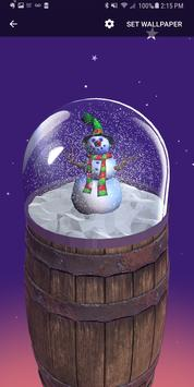 Christmas Snow Globe Live Wallpaper screenshot 2