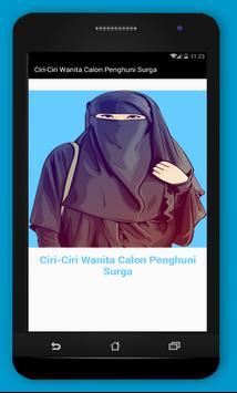 Ciri-Ciri Wanita Calon Penghuni Surga poster