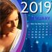 Calendário Molduras de 2019