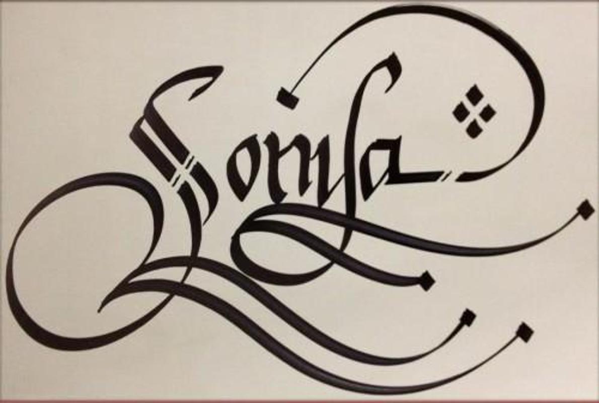 Tulisan Kaligrafi Nama Orang Cikimm Com