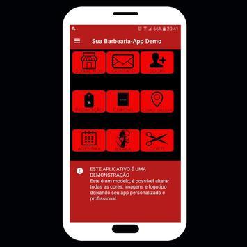 Barbearia online-Agendar horário pelo App (Demo) screenshot 1