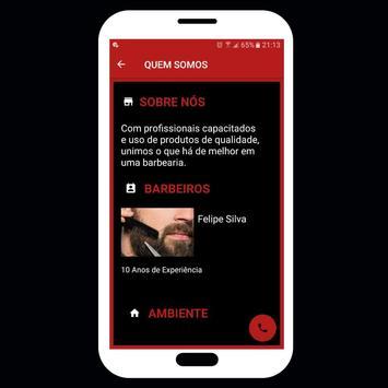 Barbearia online-Agendar horário pelo App (Demo) screenshot 7