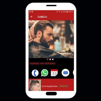 Barbearia online-Agendar horário pelo App (Demo) screenshot 5