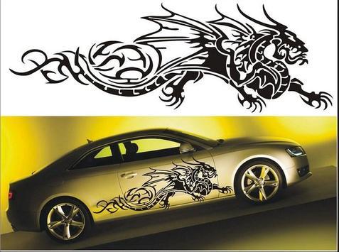 Car Cutting Sticker Design screenshot 2