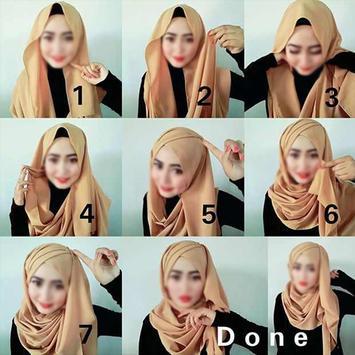 70 CaraMemakai Jilbab Segi Empat screenshot 9