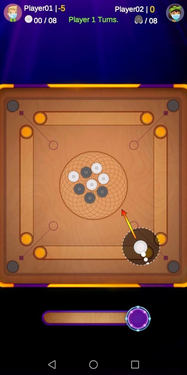 كيرم لعبة تحدي كاروم بدون نت For Android Apk Download