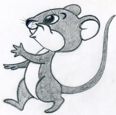 Cartoon Sketch poster
