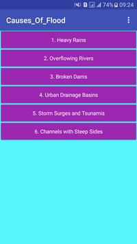 Causes_Of_Flood poster