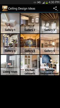 Ceiling Design Ideas poster