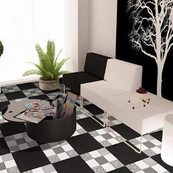 Ceramic Floor Living Room poster