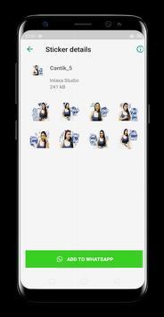 Cewek Manis Sticker screenshot 3
