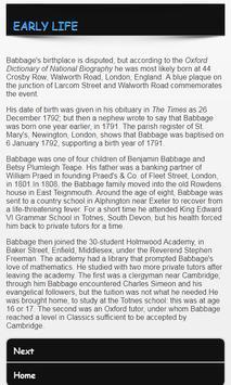Charles Babbage screenshot 2