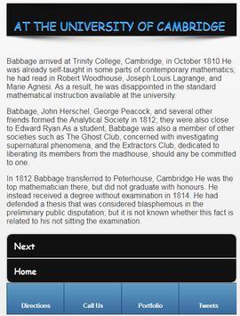 Charles Babbage screenshot 3
