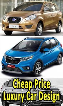Cheap Price Luxury Car Design poster