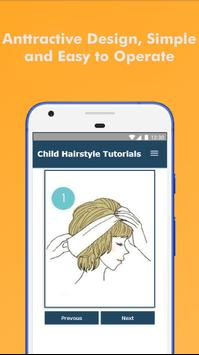 60 Hairstyles For Short Hair Child Step By Step screenshot 1