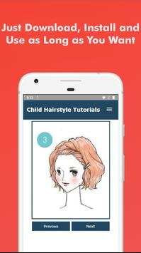 60 Hairstyles For Short Hair Child Step By Step screenshot 5