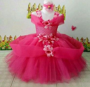 Children's dresses like the princess poster