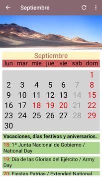 Calendario Chile 2020.Chile Calendario 2019 E 2020 For Android Apk Download