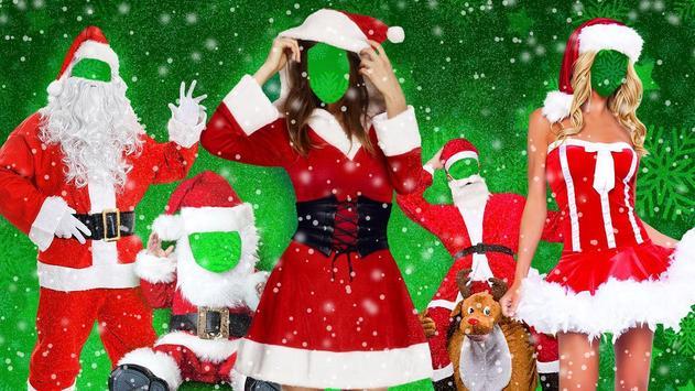Christmas Dress Up - Santa Claus Photo Suit poster