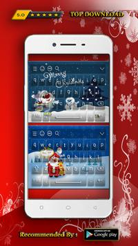 New Keyboard for Christmas Day Theme poster