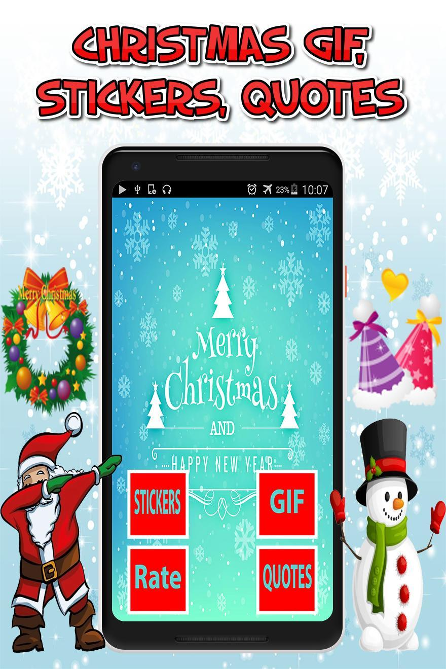 Gif Anime Stickers Citation De Noel Gratuit Pour Android Telechargez L Apk