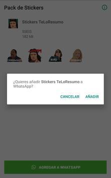 Stickers Teloresumo para WhatsApp screenshot 2
